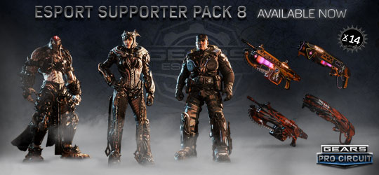 Esports Supporter Pack 8 - Las Vegas Edition