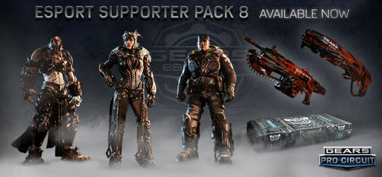 Esports Supporter Pack 8