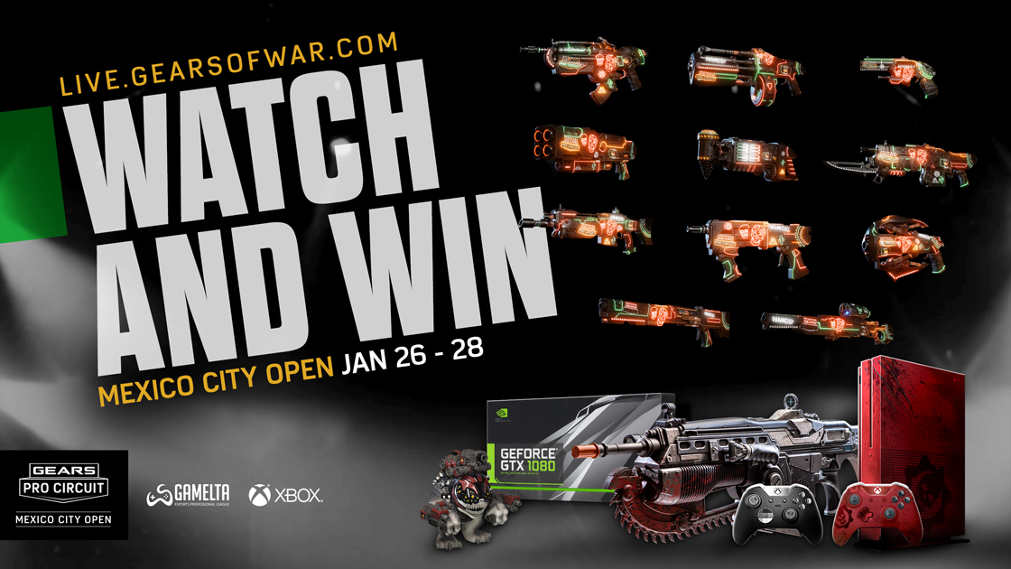 Watch And Win | Gears of War - Official Site