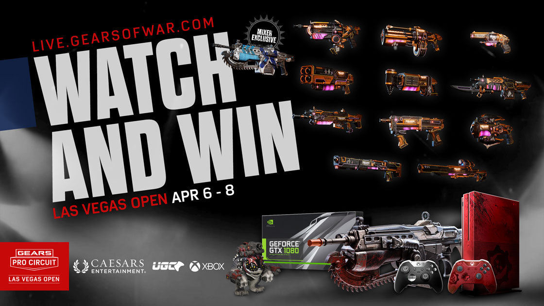 Las Vegas Open Watch And Win | Gears of War - Official Site