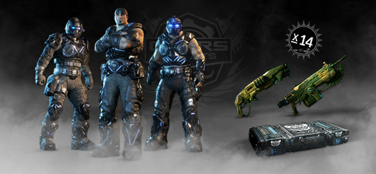 Gears Esports Supporter Pack 6