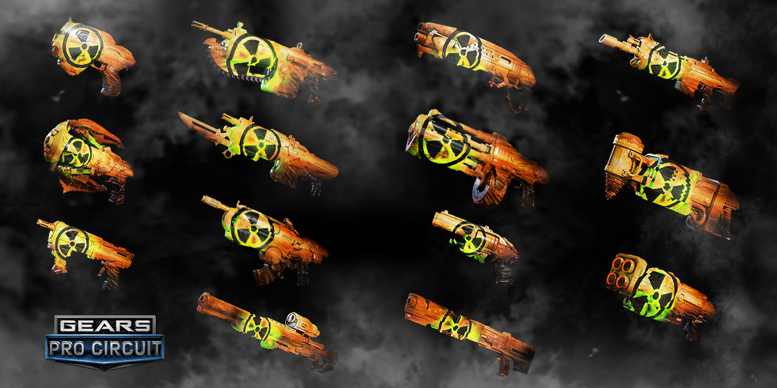 gears esports nuclear skins gears of war sito ufficiale