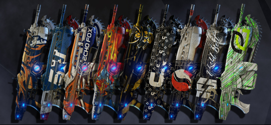 Gears Pro Circuit Season 2 Team Supporter Skins