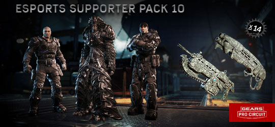 Esports Supporter Pack 10