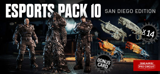 Esports Supporter Pack 10 San Diego Edition