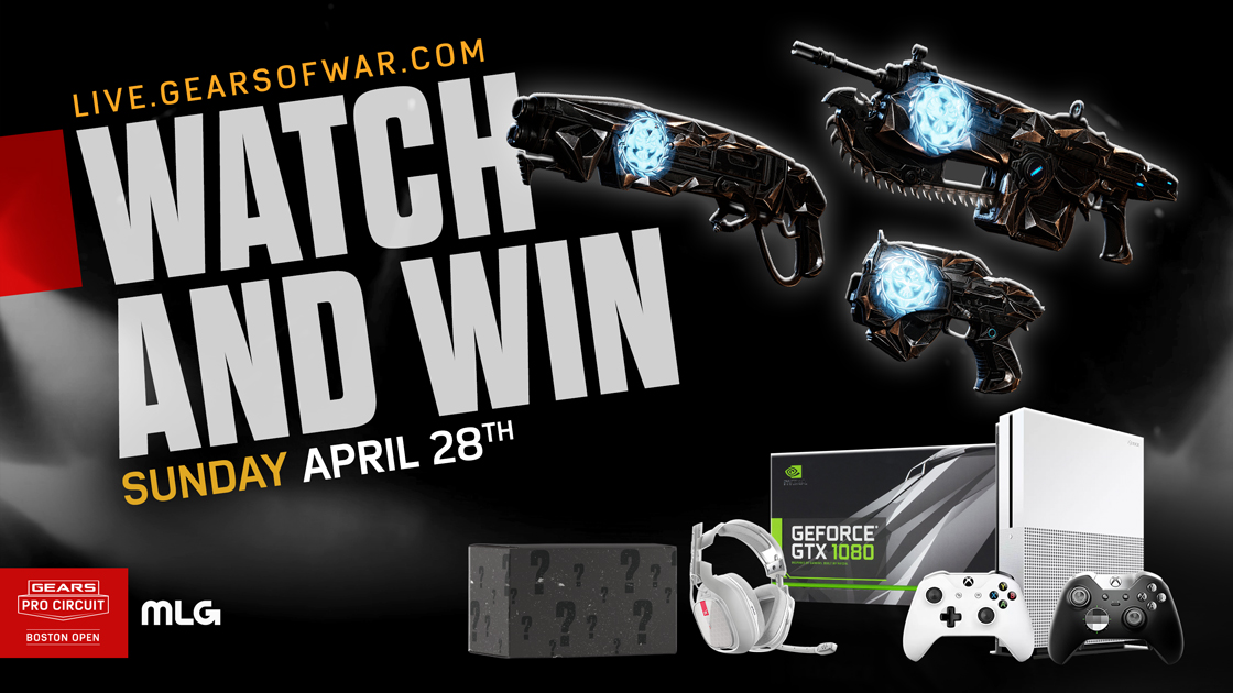 Boston Open Watch And Win | Gears of War - Official Site