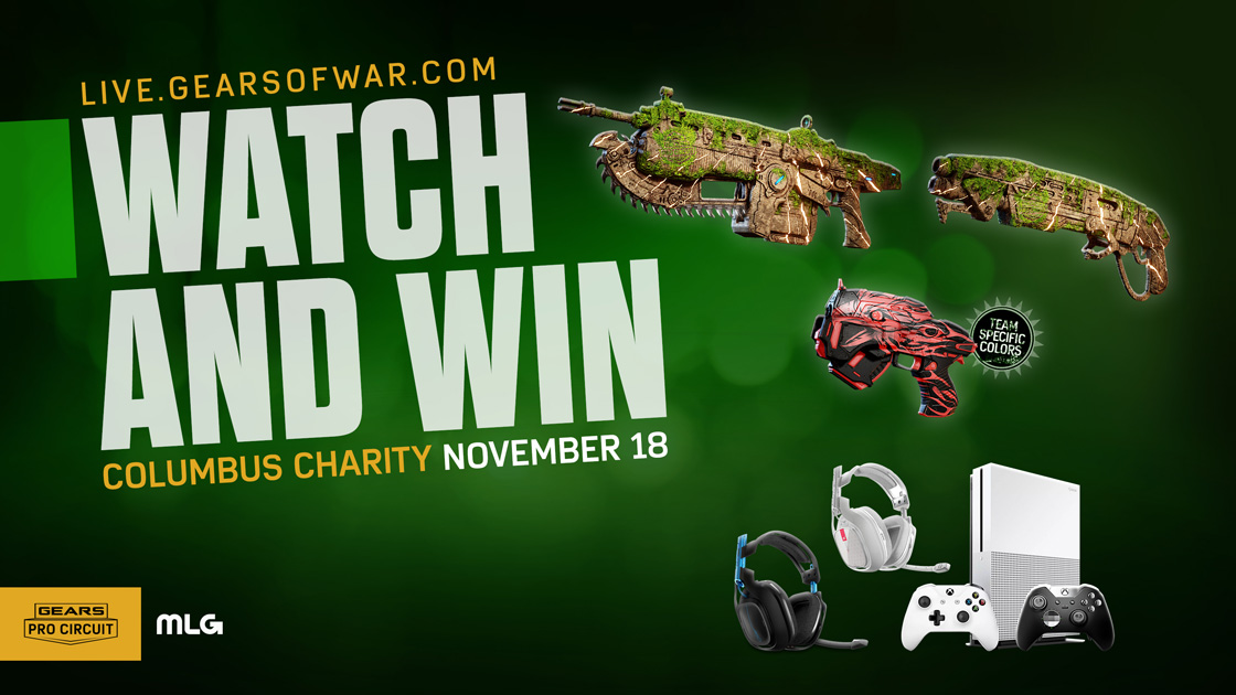 Charity Invitational Watch And Win   Gears of War - Official Site