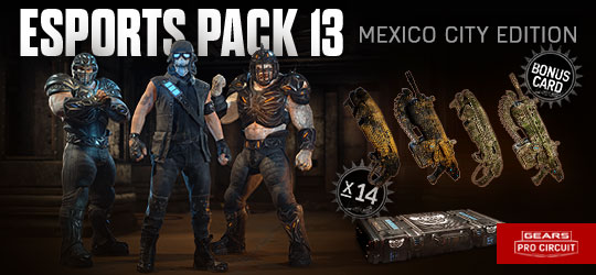 Esports Supporter Pack 13 - Mexico City Edition