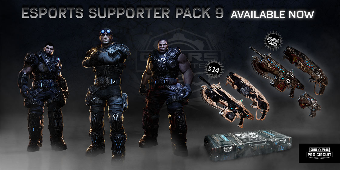 43514a82688 Esports Supporter Pack 9 - New Orleans Edition