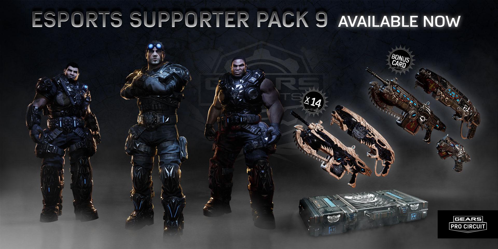 Gears Esports Supporter 9 - NOLA Edition