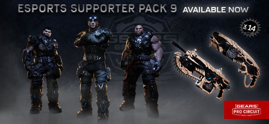 Esports Supporter Pack 9