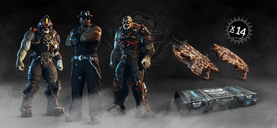 Gears Esports Supporter Pack 7