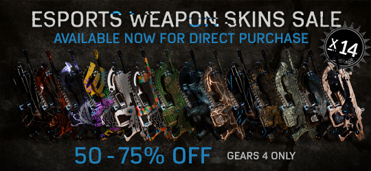 Esports Weapon Skins Sale