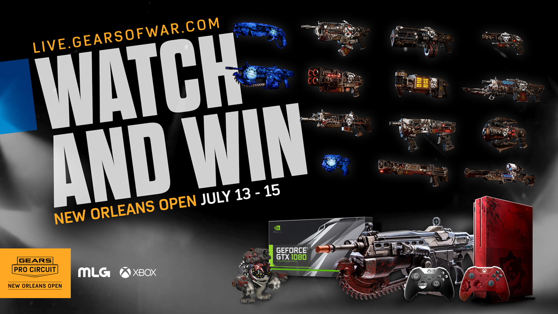 New Orleans Open Watch And Win | Gears of War - Official Site