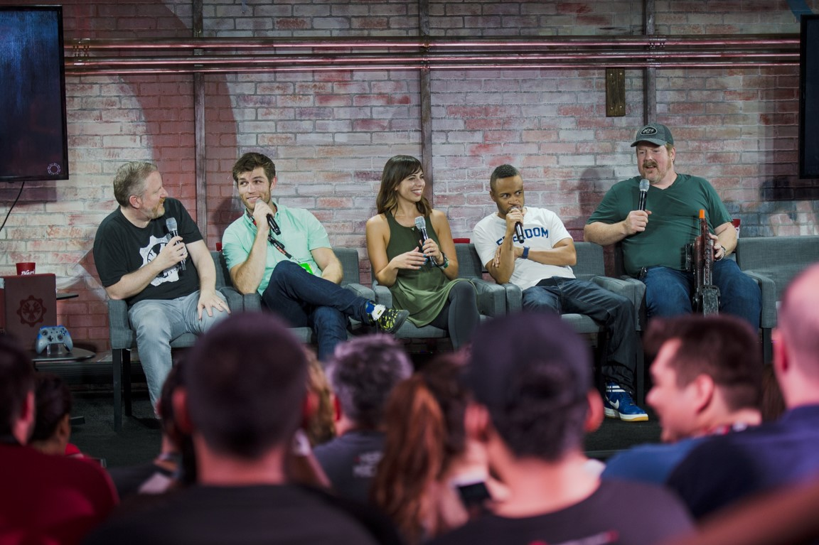 Gears of War 4 - NerdHQ 2016 Panel