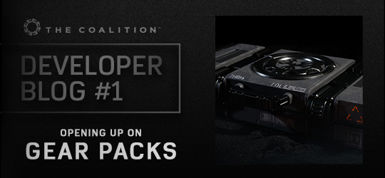 Developer Blog - Gear Packs and Cards