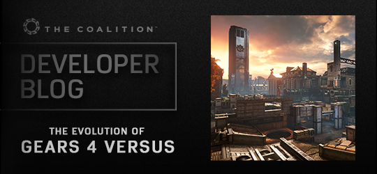 Developer Blog - The Evolution of Gears 4 Versus Multiplayer