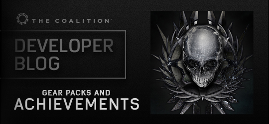Developer Blog - Achievements and Gear Packs
