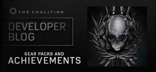 Developer Blog - Achievements and Gear Packs