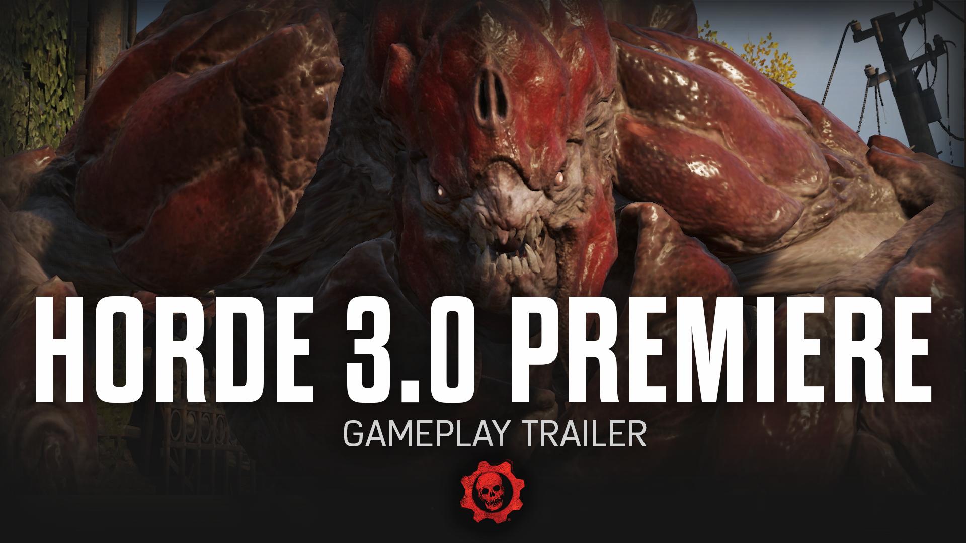 Gears of War 4 Horde Trailer