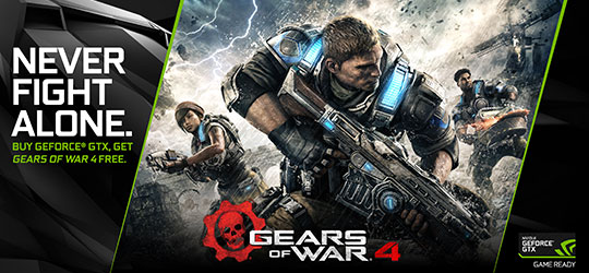 Gears of War 4 GeForce GTX Bundle
