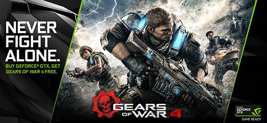 Gears of War 4 GeForce GTX Bundle