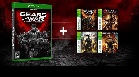 Gears of War now backwards compatible on Xbox One
