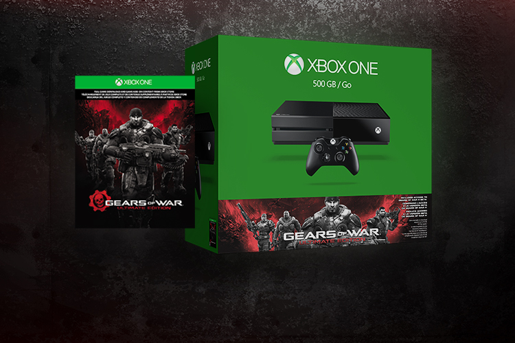 Gears of War & Xbox One bundle