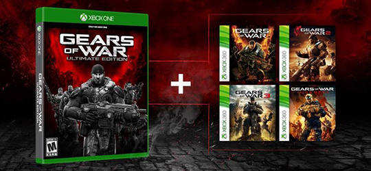 Gears of War backwards compatible on Xbox One