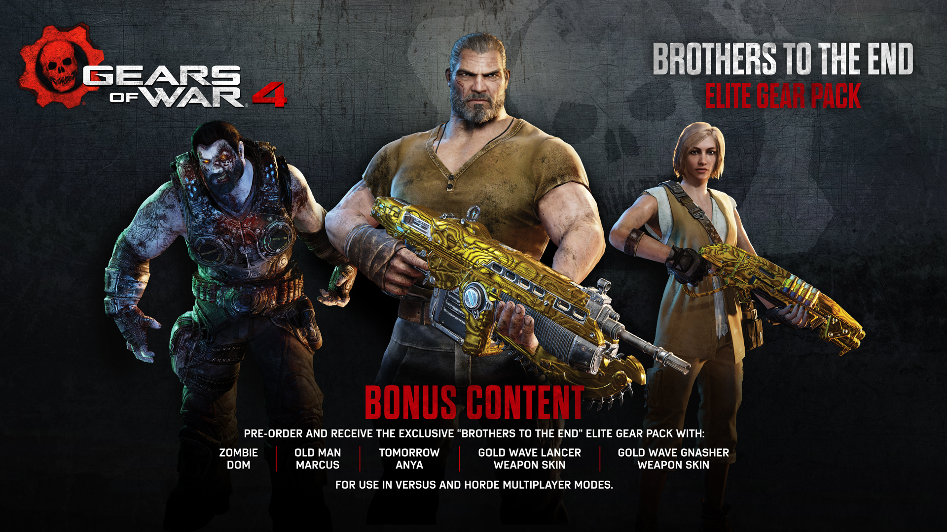 Pre order code recovery form - Pre Order Bonus Brothers To The End Elite Gear Pack