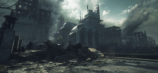 Remastering Gears of War - Environments