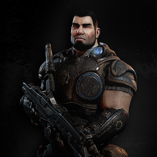 Dominic Santiago Personnages Gears Of War Site Officiel