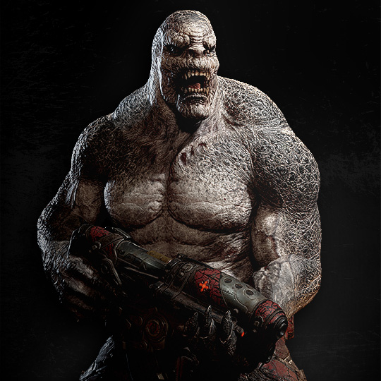 locust drone with Grenadier on Mejores Juegos Xbox 360 104684 furthermore Gears Of War Ultimate Edition Pre Order Characters Exclusives together with Robots moreover Skorge  Gears of War additionally Minecraft Xbla Skin Pack 1 Details.