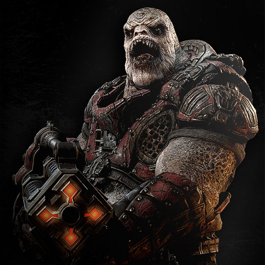 drone gears of war with Boomer on 12736 likewise Gears Of War COG Helmets 265657564 moreover 2507653386 further 561411 besides Savage Boomer.