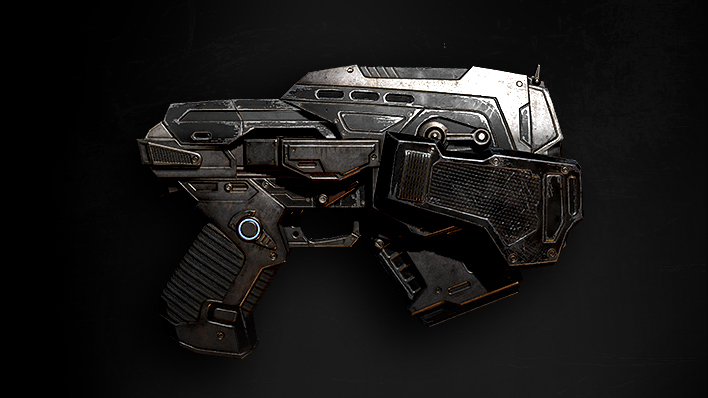 Pistola de cañón corto