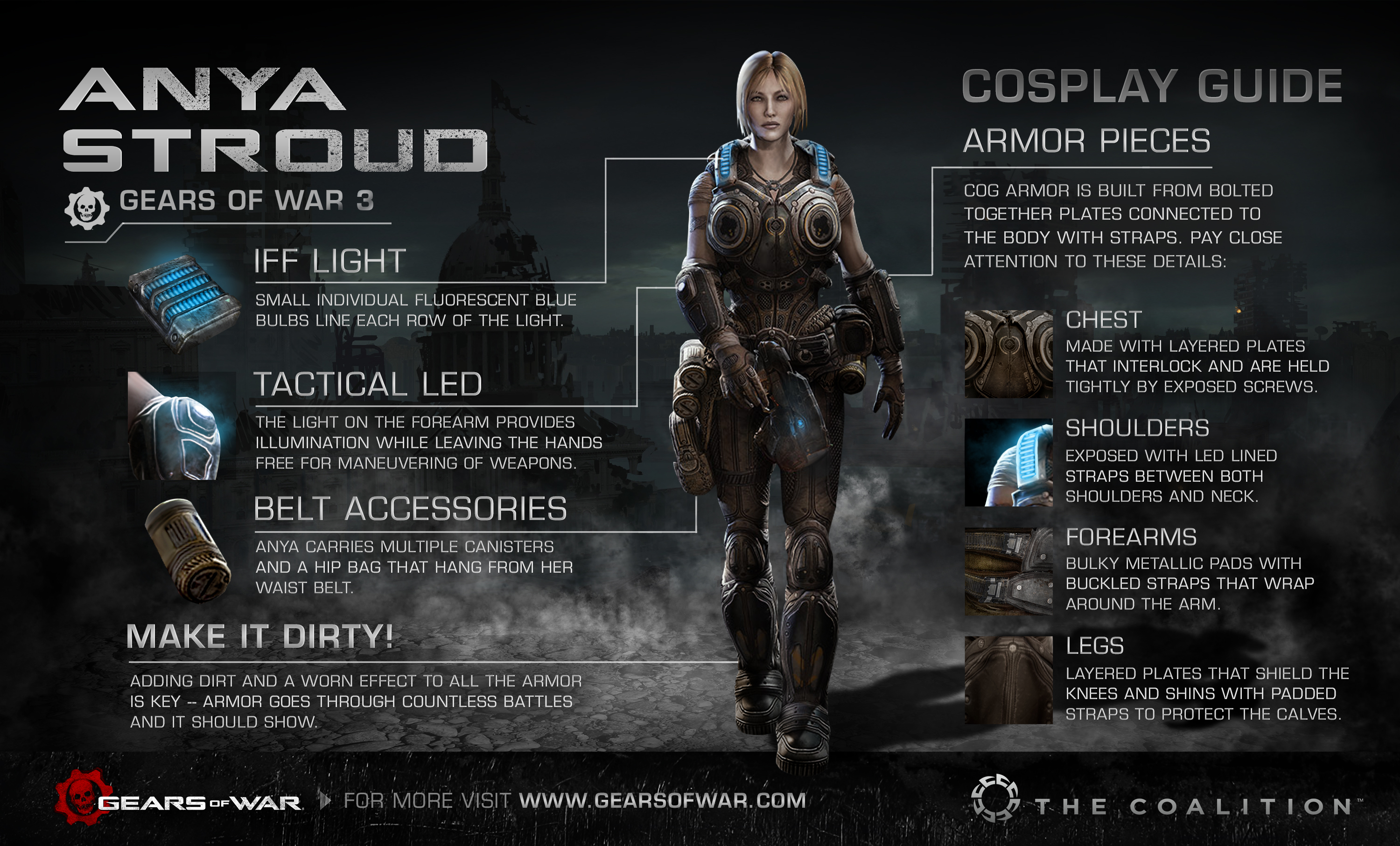 Gears Of War Cosplay Guides Gears Of War Official Site