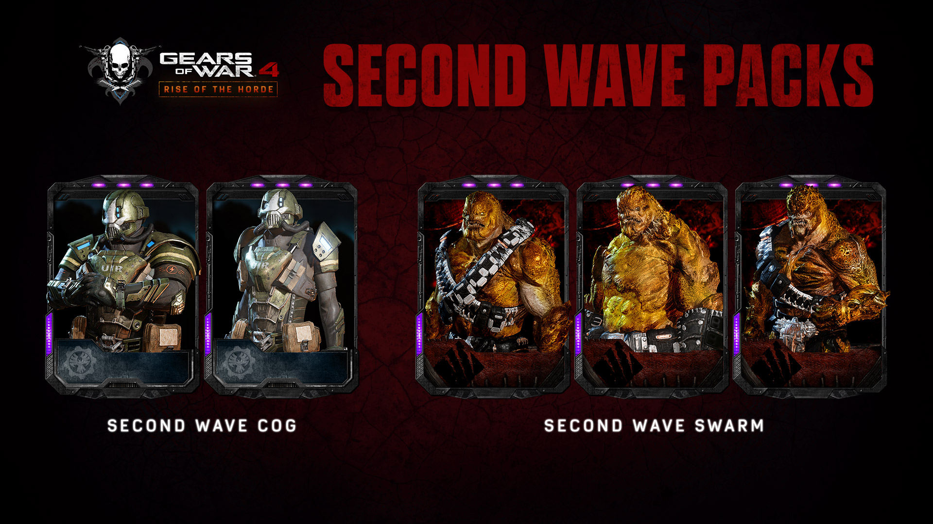 second wave packs