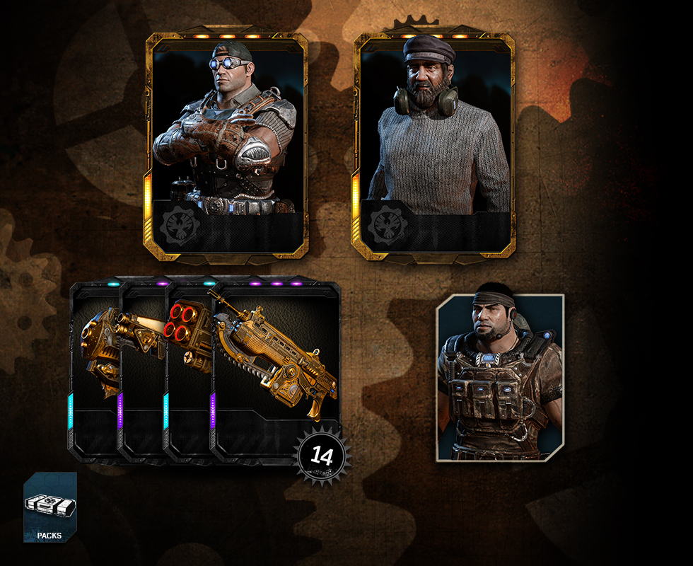Gears Of War 4 Gears Engineers Pack Community Gears Of War