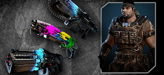 Gears of War 4 - Weapon Collector 3