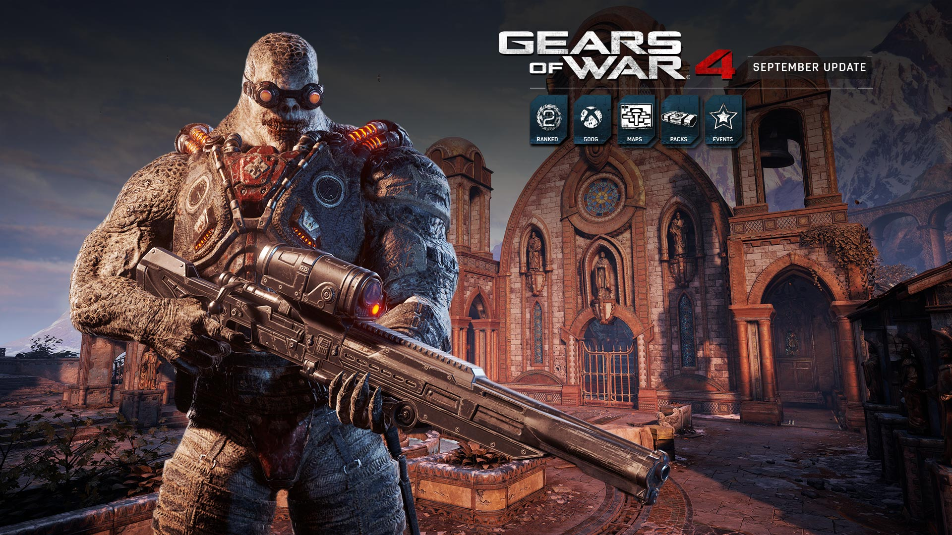 Gears of War 4 - September Update | Community | Gears of War ... on modern warfare 2 map list, left 4 dead map list, wolfenstein map list, call of duty black ops 2 map list, battlefield bad company 2 map list, titanfall map list, just cause 2 map list, rainbow six vegas map list, team fortress 2 map list, halo map list, battlefield 3 map list, modern warfare 3 map list, doom 3 map list, minecraft map list, borderlands 2 map list, red orchestra 2 map list, cod black ops map list, destiny map list, metal gear solid map list, gears of war 1 map list,