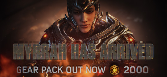 Gears of War 4 - Myrrah Gear Pack