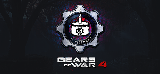 Gears 4 Is One!