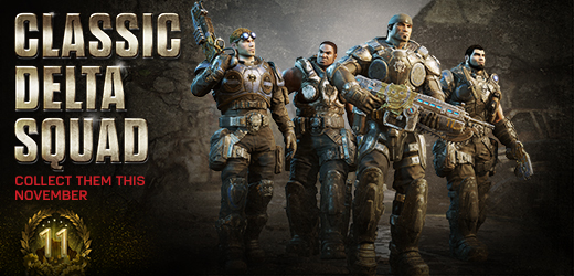 Gears of War 4 - 11 Years of Gears Event