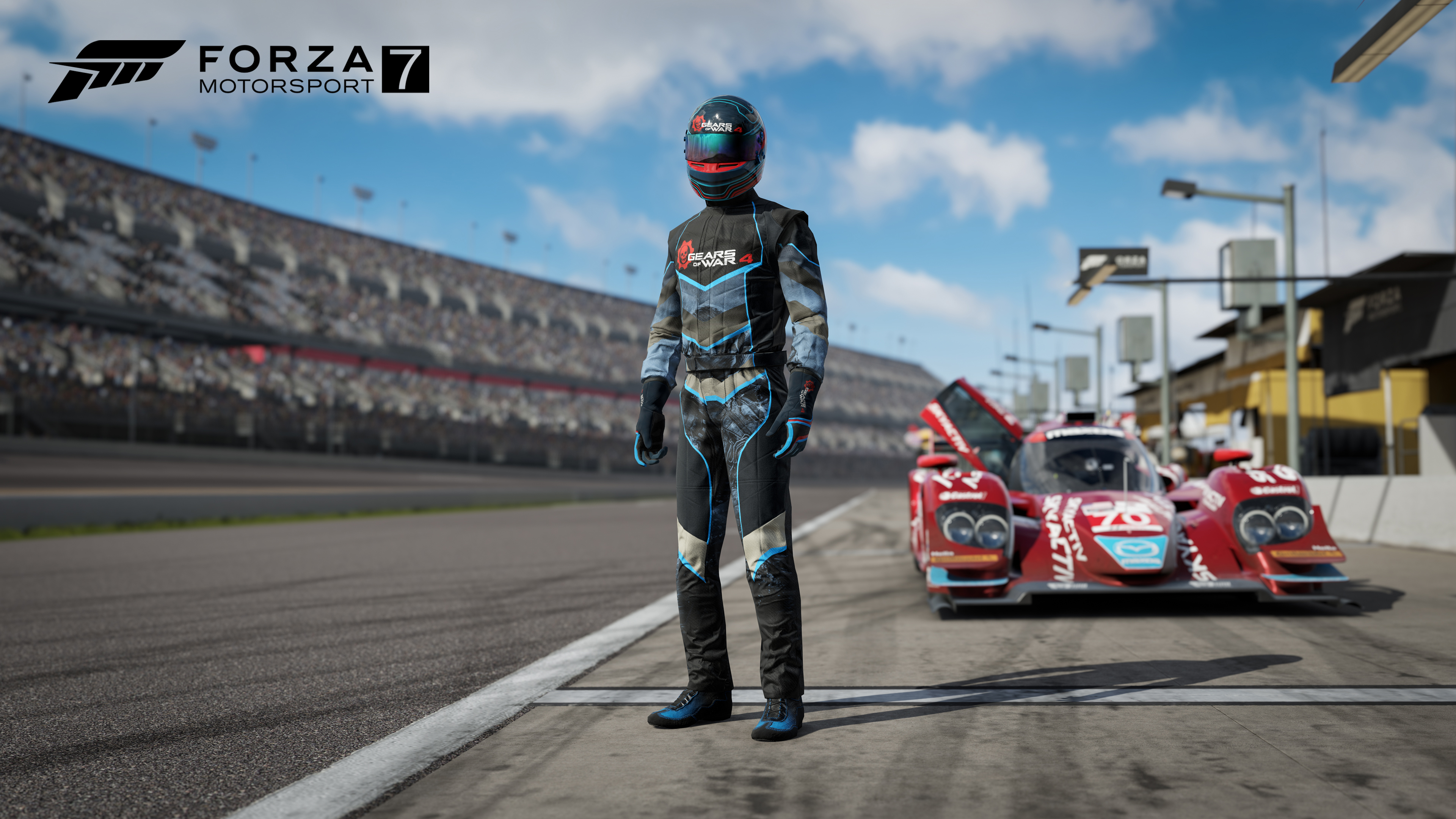 forza motorsport 7 racing suit inspired by gears of war 4 is rolling out now mspoweruser. Black Bedroom Furniture Sets. Home Design Ideas