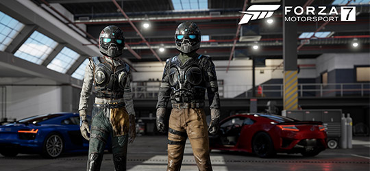 Gears of War Racing Suits Come To Forza 7