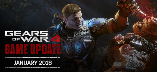 Gears of War 4 - January 2018 Update