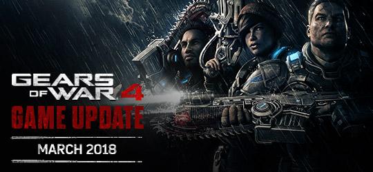Gears of War 4 - March 2018 Update