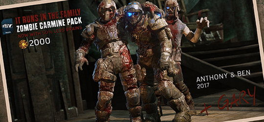 May Gear Pack - Zombie Carmines