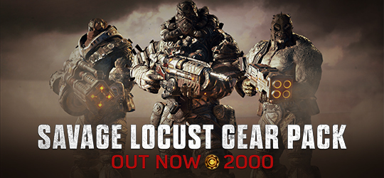 Gears of War 4 July Gear Pack: Savage Locust