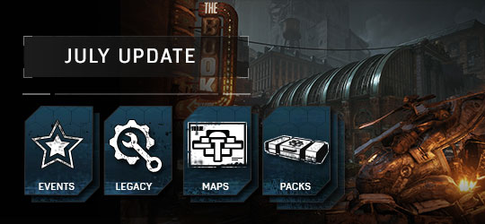 Gears of War 4 - July Update